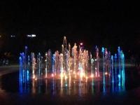 Wasserspiele mit Licht