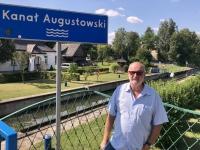 2019 08 25 Augustow Kanal mit Schleuse Unesco Weltkulturerbe
