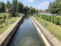 Augustow Kanal mit Schleuse