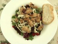 Hühnersalat als Mittagessen