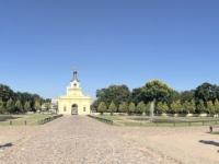 2019 08 25 Bialystok Branicki Palast wunderschöner Garten