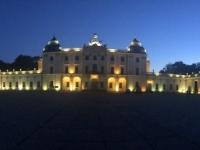 2019 08 25 Bialystok Palast bei Nacht