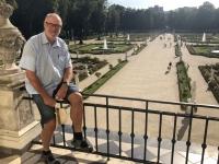 Bialystok symetrischer Garten des Branicki Palastes