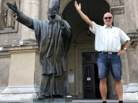 2019 08 27 Warschau Papstdenkmal
