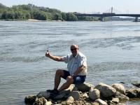 2019 08 27 Warschau Wasserentnahme Fluss Weichel
