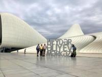 2019 09 11 Baku Kulturzentrum Heydar Aliyev 3