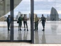 2019 09 11 Baku Kulturzentrum Heydar Aliyev Spiegelfoto