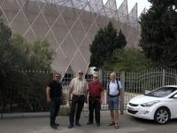 2019 09 12 Baku Sporthalle mit Kronendach