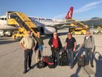 2019 09 12 Salzburg Ankunft Flughafen
