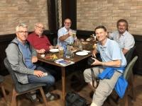 2019 09 08 Baku Abendessen mit Steak und Pommes