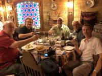 2019 09 09 Baku Abendessen nach der Nachttour