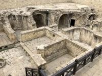 2019 09 09 Baku Ausgrabungen im Palast Schirwanschahs