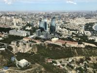 2019 09 09 Baku Blick vom Fernsehturm auf die Stadt
