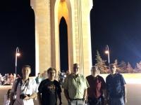 2019 09 09 Baku Nachttour Ewige Flamme Denkmal