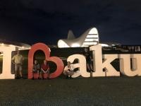 2019 09 09 Baku Nachttour Kulturzentrum Heydar Aliyev Merkezi