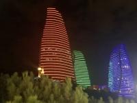 2019 09 09 Baku Nachttour tolle Beleuchtung
