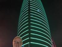 2019 09 09 Baku Nachttour tolle Türme