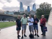 2019 09 09 Baku Spaziergang auf Strandpromenade