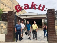 2019 09 10 Baku Mittagessen im Restaurant Baku