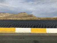 2019 09 10 Fahrt zum Vulkanschlamm Sonnenkollektoren