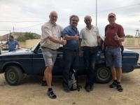 2019 09 10 unser Fahrer zum Vulkanschlamm