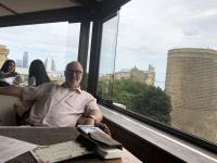 2019 09 11 Baku Blick von der Dachterrasse
