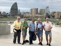 2019 09 11 Baku Kulturzentrum Heydar Aliyev Blick in die Stadt