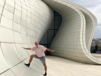 2019 09 11 Baku Kulturzentrum Heydar Aliyev tolle Architektur