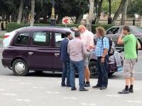 2019 09 11 Baku Streiterei mit Taxler