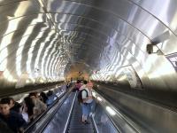 2019 09 11 Baku U_Bahn Rolltreppe