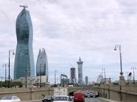 2019 09 11 Baku Viele Baustellen