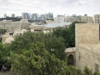 2019 09 09 Baku Blick vom Palast  Schirwanschahs