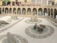 2019 09 09 Baku Palast Schirwanschahs Innenhof