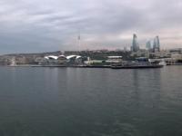 2019 09 11 Baku Blick von der Schifffahrt