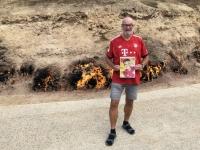 2019 09 10 Brennender Berg Yanar Dag FC Bayern