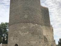 Aserbaidschan Ummauerter Teil von Baku Kopfbild