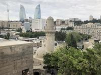 Aserbaidschan Ummauerter Teil von Baku Palast Kopfbild