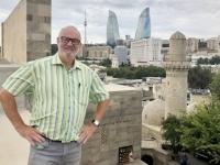 Aserbaidschan Ummauerter Teil von Baku Palast