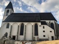 Ankunft Kirche Kefermarkt