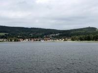 Lipno vom See aus