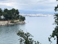 Blick nach Rijeka