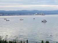 Kreuzfahrtschiff verlässt Rijeka