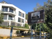 Ortseinfahrt Opatija