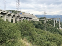 Autobahn über Bakar