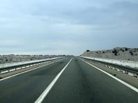 Fahrt über die Krk Brücke