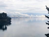 Wieder im Hotel Blick auf Rijeka