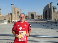 2019 09 29 Samarkand Registanplatz FC Bayern München