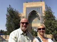 2019 09 28 Samarkand Mausoleum Amir Temur Eingang