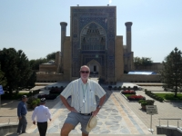2019 09 28 Samarkand Mausoleum Amir Temur Zugang