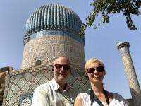 2019 09 28 Samarkand Mausoleum Amir Temur gewaltige Kuppel
